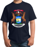 Youth Navy Michigan State Flag - Michigan State Pride Detroit Home Love T-shirt