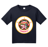 Youth Navy Minnesota State Flag - Minnesota State Flag Prince Minneapolis T-shirt