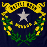 Nevada State Flag Navy art preview
