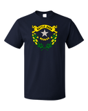 Standard Navy Nevada State Flag - Nevada State Flag Las Vegas Reno Laughlin T-shirt