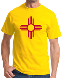 Standard Yellow New Mexico State Flag - New Mexico Flag Pride Breaking Bad Love T-shirt