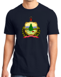 Standard Navy Vermont State Flag - Vermont Pride New England Maple Syrup Love T-shirt