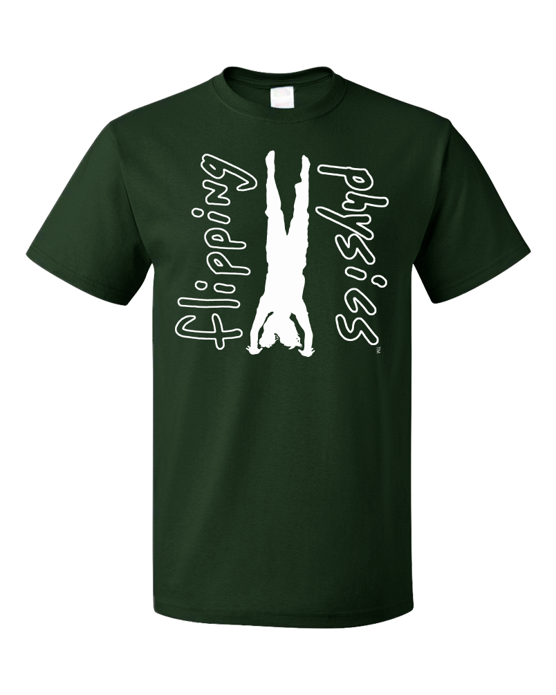 Standard Forest Green Dark Handstand Tees T-shirt