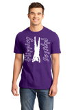 Standard Purple Dark Handstand Tees T-shirt