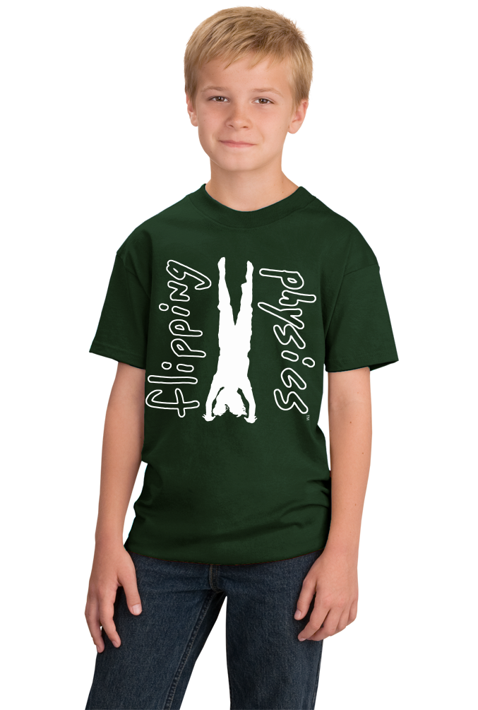 Youth Forest Green Dark Handstand Tees T-shirt