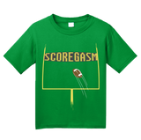 Youth Green SCOREGASM T-shirt