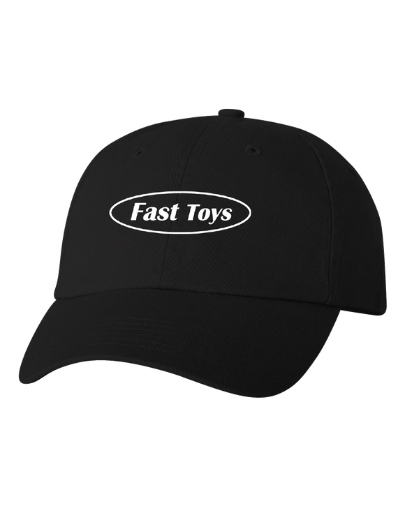 Low Profile Hat Black Fast Toys Club Logo Hat