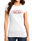 Girly White Fast Toys Club Logo T-shirt