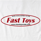 Fast Toys Club Logo White Art Preview