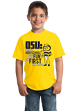Youth Yellow OSU: Because High School Was So Much Fun The First Time - UM Fan T-shirt