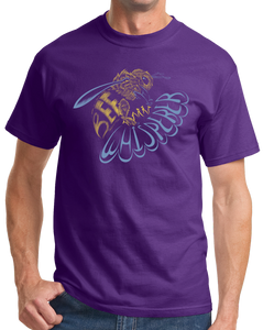 Standard Purple Bee Whisperer - Beekeeper Bees Honey Cute Garden Bumblebee Gift T-shirt