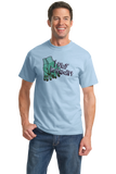 Standard Light Blue I Play In The Dirt - Gardening Funny Humor Cute Garden Gardener T-shirt