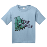 Youth Light Blue I Play In The Dirt - Gardening Funny Humor Cute Garden Gardener T-shirt