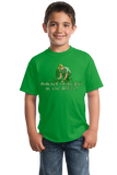 Youth Green Another Tough Day At The Office - Gardening Garden Hobby Funny T-shirt