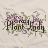 CRAZY PLANT LADY Natural art preview