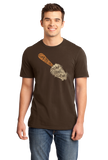 Standard Brown Trowl & Error - Funny Gardening Humor Hipster Pun Dad Mom Joke T-shirt