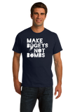 Standard Navy Make Bogeys, Not Bombs - Funny Golfer Golf Joke Gift Love T-shirt