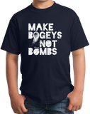Youth Navy Make Bogeys, Not Bombs - Funny Golfer Golf Joke Gift Love T-shirt