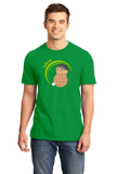Standard Green Golf Nut - Cute Golf Golfer Funny Hipster Father's Day T-shirt