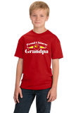 Youth Red Proud Chinese Grandpa - China Pride Heritage Chinese Grandpa T-shirt