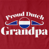 Proud Dutch Grandpa | Netherlands Pride Red Art Preview