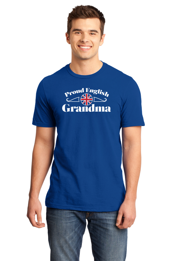 Standard Royal Proud English Grandma - England Pride British Heritage Grandma T-shirt