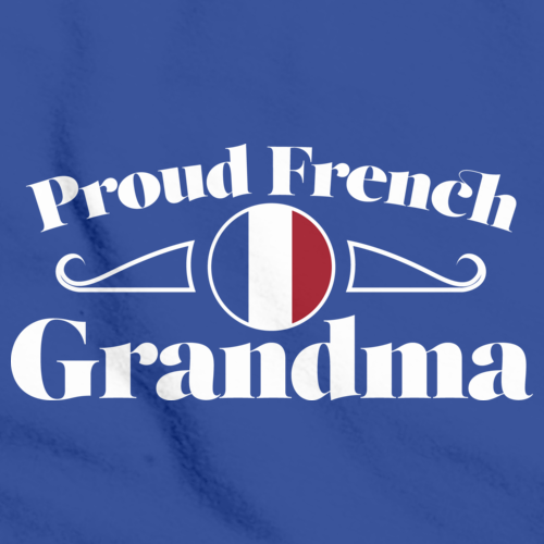 Proud French Grandma | France Pride Royal Art Preview