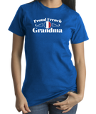 Standard Royal Proud French Grandma - France Pride French Heritage Grandma Gift T-shirt