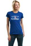 Ladies Royal Proud French Grandpa - France Pride French Heritage Grandpa Gift T-shirt