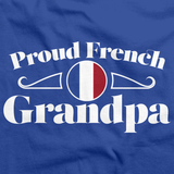 Proud French Grandpa | France Pride Royal Art Preview