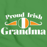 Proud Irish Grandma | Ireland Pride Green Art Preview