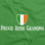 PROUD IRISH GRANDMA Green art preview