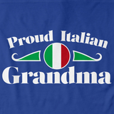 Proud Italian Grandma | Italy Pride Royal Art Preview