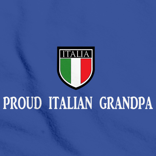 PROUD ITALIAN GRANDPA Royal Blue art preview