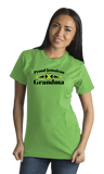 Standard Green Proud Jamaican Grandma - Jamaican Pride Grandma Mother's Day T-shirt