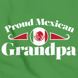 Proud Mexican Grandpa | Mexico Pride Green Art Preview