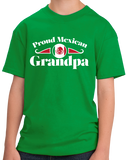 Youth Green Proud Mexican Grandpa - Mexican Pride Abuelo Abuelito Grandpa T-shirt