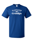 Standard Royal Proud Scottish Grandpa - Scottish Pride Grandpa Heritage Avi T-shirt