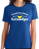 Ladies Royal Proud Ukrainian Grandpa - Ukraine Pride Heritage Didus Grandpa T-shirt