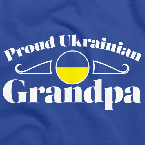 Proud Ukrainian Grandpa | Ukraine Pride Royal Art Preview