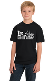Youth Black THE GRILLFATHER T-shirt