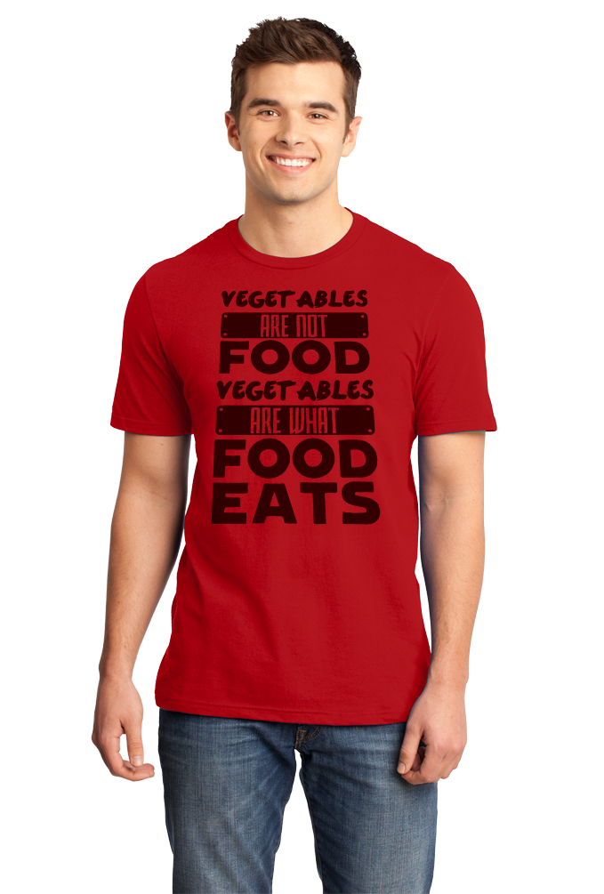 32b0109353 ... Standard Red Vegetables Are What Food Eats - Meat Eater Pride Funny  Carnivore T-shirt · Youth ...