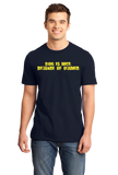 Standard Navy Dog Is Nice, Beware Of Owner - Dog Owner Gun Joke 2nd Ammendment T-shirt