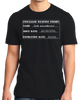 Standard Black 2nd Amendment Gun Permit - Gun Rights Lover Freedom Fun T-shirt