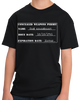 Youth Black 2nd Amendment Gun Permit - Gun Rights Lover Freedom Fun T-shirt