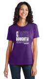 Ladies Purple Lotta Boys Bought the Gamecube T-shirt