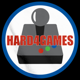 Hard 4 Games Logo Black Art Preview