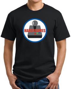 Unisex Black Hard 4 Games Logo T-shirt