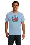 Unisex Light Blue Perfect 10 Seal of Approval T-shirt