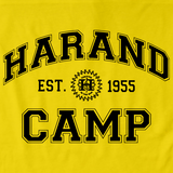 Harand Theatre Camp Collegiate Style Navy Print Yellow Art Preview